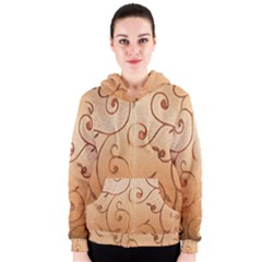 Texture Material Textile Gold Women s Zipper Hoodie