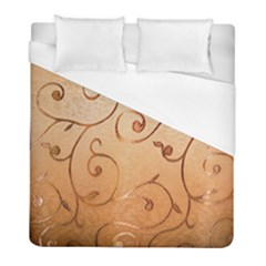 Texture Material Textile Gold Duvet Cover (full/ Double Size)