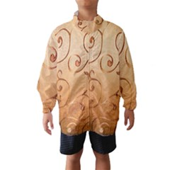 Texture Material Textile Gold Wind Breaker (kids)