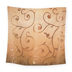 Texture Material Textile Gold Square Tapestry (large)