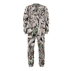 Ice Leaves Frozen Nature Onepiece Jumpsuit (kids)
