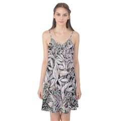 Ice Leaves Frozen Nature Camis Nightgown
