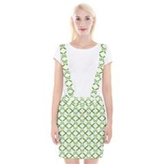 Scissor Green Suspender Skirt