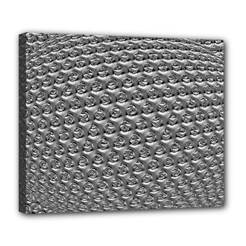 Mandelbuld 3d Metalic Deluxe Canvas 24  X 20