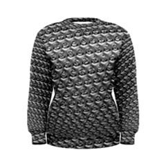 Mandelbuld 3d Metalic Women s Sweatshirt