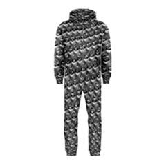 Mandelbuld 3d Metalic Hooded Jumpsuit (kids)