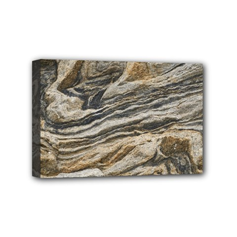 Rock Texture Background Stone Mini Canvas 6  x 4