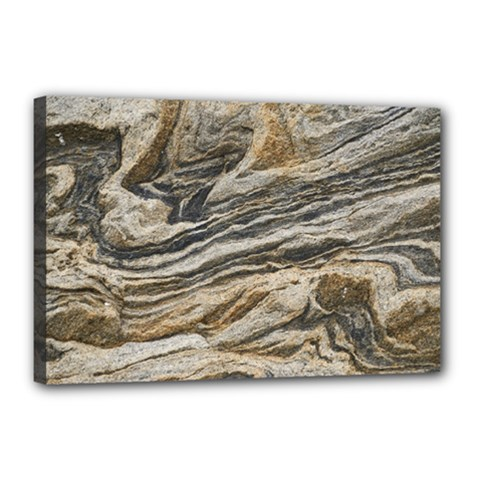 Rock Texture Background Stone Canvas 18  X 12
