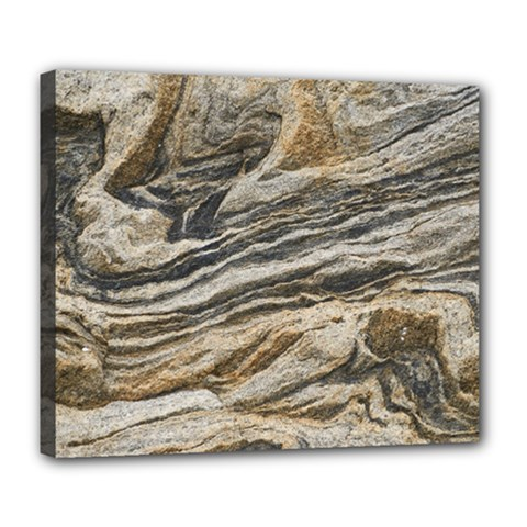 Rock Texture Background Stone Deluxe Canvas 24  X 20