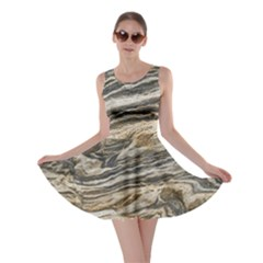 Rock Texture Background Stone Skater Dress