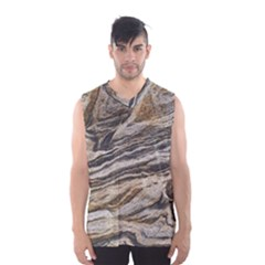 Rock Texture Background Stone Men s Basketball Tank Top