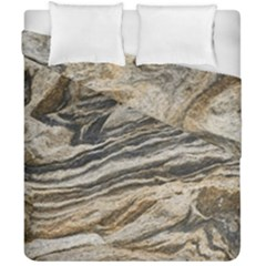Rock Texture Background Stone Duvet Cover Double Side (california King Size)