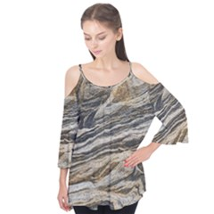 Rock Texture Background Stone Flutter Tees