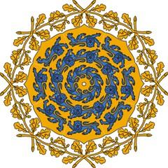 Coat of Arms of Estonia Folding Umbrellas