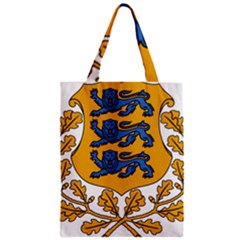 Coat of Arms of Estonia Zipper Classic Tote Bag
