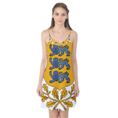 Coat of Arms of Estonia Camis Nightgown