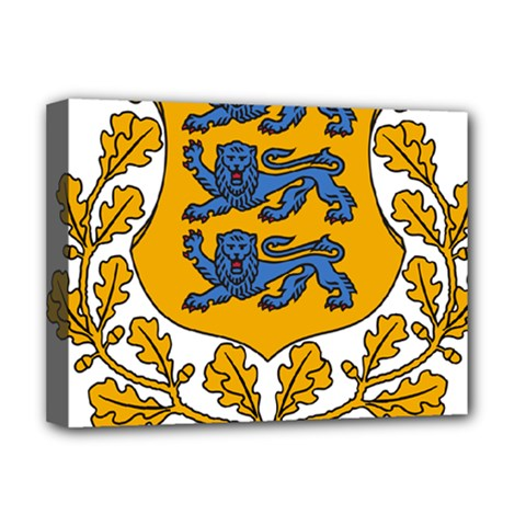 Coat of Arms of Estonia Deluxe Canvas 16  x 12