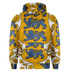 Coat of Arms of Estonia Men s Pullover Hoodie