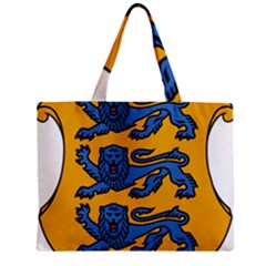 Lesser Arms of Estonia Zipper Mini Tote Bag