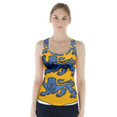 Lesser Arms of Estonia Racer Back Sports Top