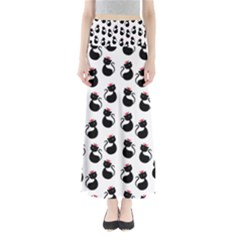 Cat Seamless Animal Pattern Maxi Skirts