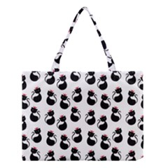 Cat Seamless Animal Pattern Medium Tote Bag