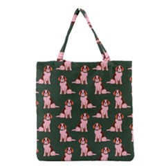 Dog Animal Pattern Grocery Tote Bag