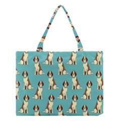 Dog Animal Pattern Medium Tote Bag