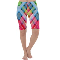 Graphics Colorful Colors Wallpaper Graphic Design Cropped Leggings