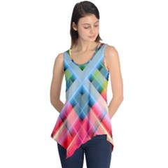 Graphics Colorful Colors Wallpaper Graphic Design Sleeveless Tunic