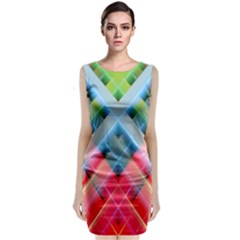 Graphics Colorful Colors Wallpaper Graphic Design Classic Sleeveless Midi Dress