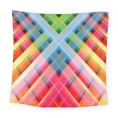 Graphics Colorful Colors Wallpaper Graphic Design Square Tapestry (large)