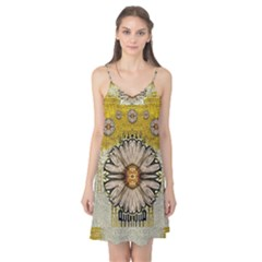 Power To The Big Flower Camis Nightgown