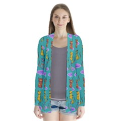 Meow Cat Pattern Cardigans