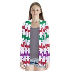 Colorful Horse Background Wallpaper Cardigans