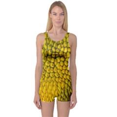 Jack Shell Jack Fruit Close One Piece Boyleg Swimsuit