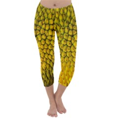 Jack Shell Jack Fruit Close Capri Winter Leggings