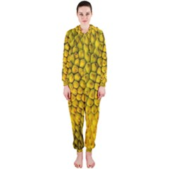 Jack Shell Jack Fruit Close Hooded Jumpsuit (ladies)