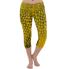 Jack Shell Jack Fruit Close Capri Yoga Leggings