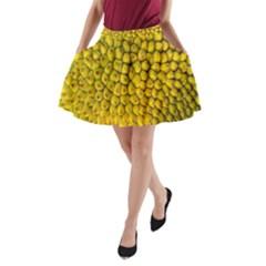 Jack Shell Jack Fruit Close A Line Pocket Skirt