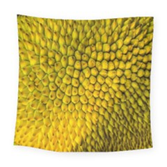 Jack Shell Jack Fruit Close Square Tapestry (large)