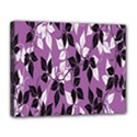 Floral Pattern Background Canvas 14  x 11  View1
