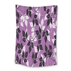 Floral Pattern Background Small Tapestry