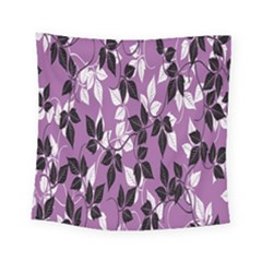 Floral Pattern Background Square Tapestry (small)