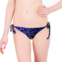 Fabric Animal Motifs Bikini Bottom