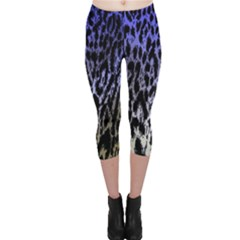 Fabric Animal Motifs Capri Leggings