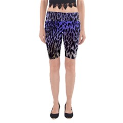 Fabric Animal Motifs Yoga Cropped Leggings
