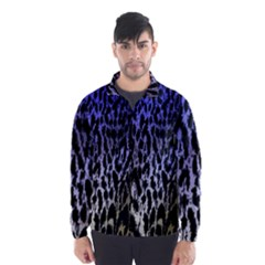 Fabric Animal Motifs Wind Breaker (men)