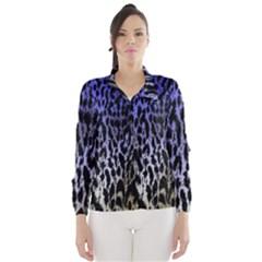 Fabric Animal Motifs Wind Breaker (Women)