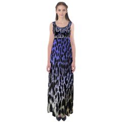 Fabric Animal Motifs Empire Waist Maxi Dress